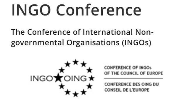 Special session of the INGO conference of the Council of Europe